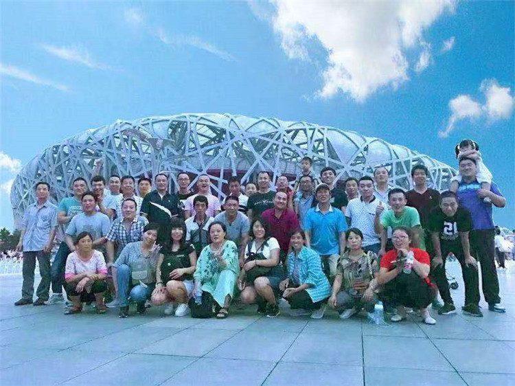团队活动-北京鸟巢