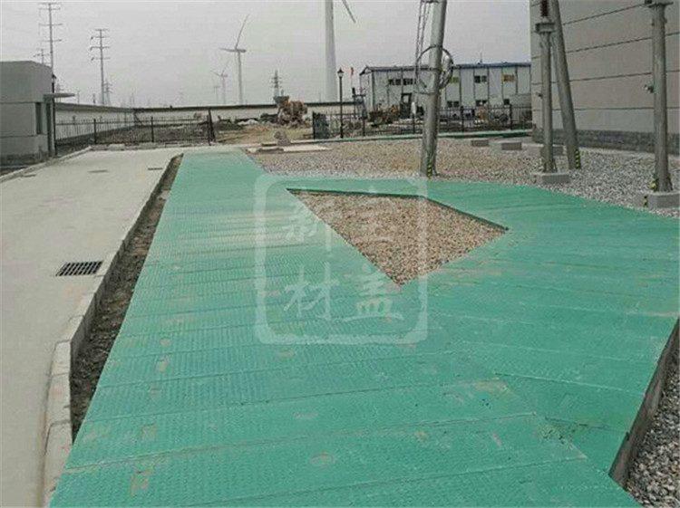 绿色电缆沟盖板实例