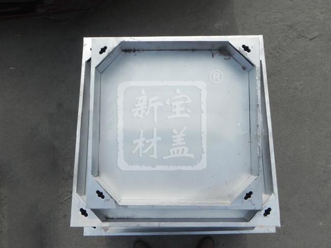 500x500不锈钢隐形井盖